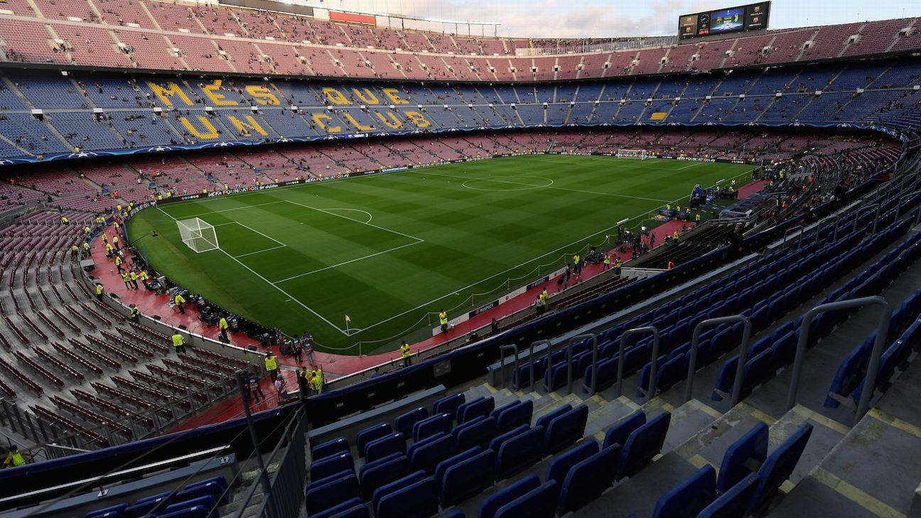 El ingreso de los aficionados al Camp Nou se alentó debido al aumento en las medidas de seguridad.