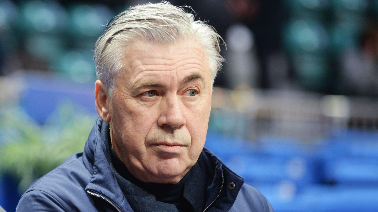 Carlo Ancelotti após a demissão do Bayern de Munique, em evento na Itália