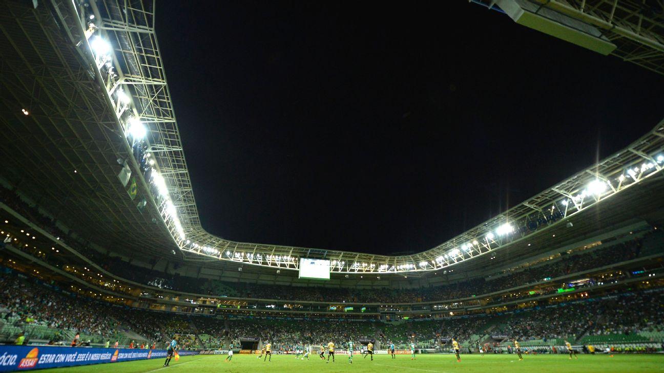 Recorde de público do Palmeiras no Allianz é de 40.986 pessoas