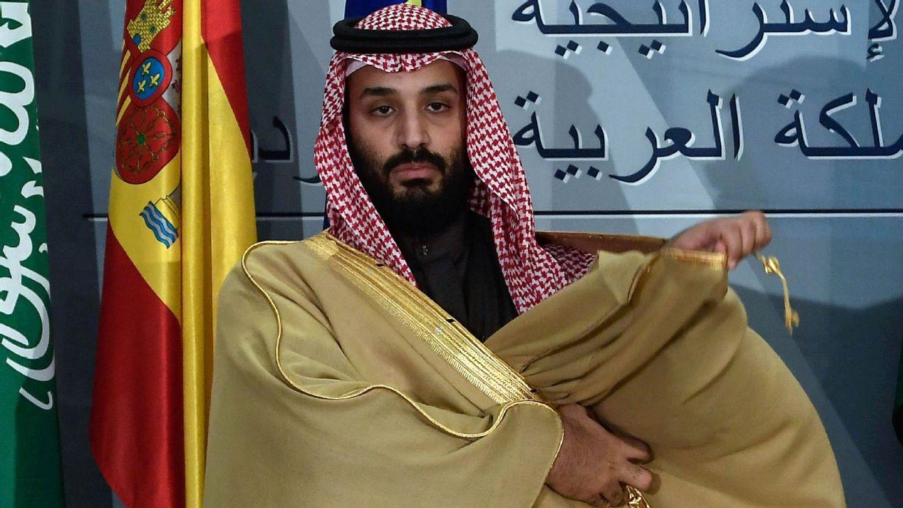 Mohammad bin Salman, atual príncipe e futuro rei da Arábia Saudita