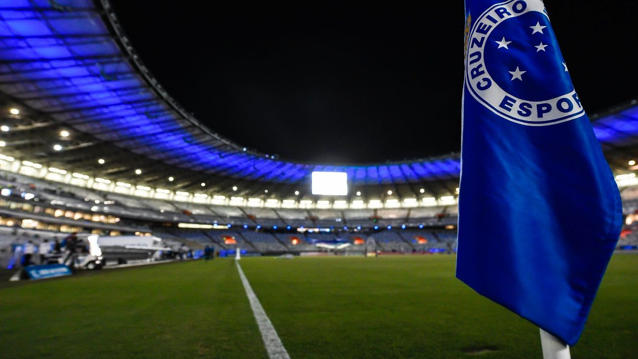 Mineirão antes de jogo entre Cruzeiro e Palmeiras, pelo Brasileiro