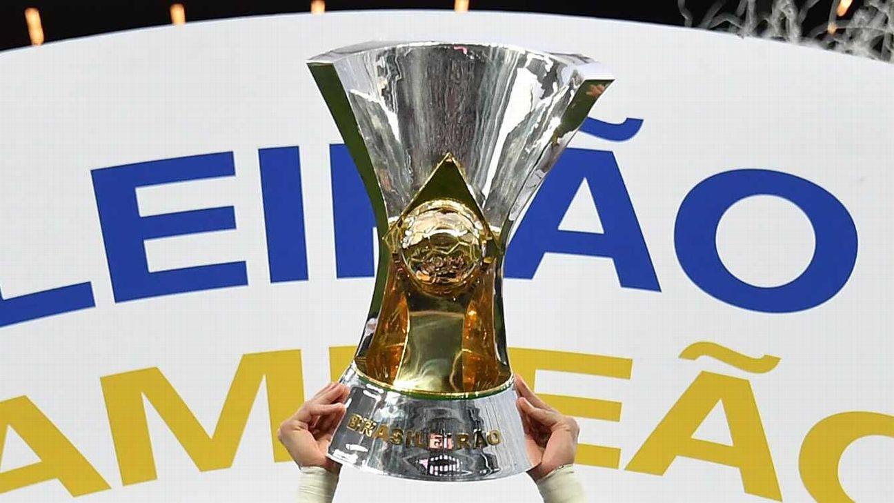 A taça de campeão brasileiro
