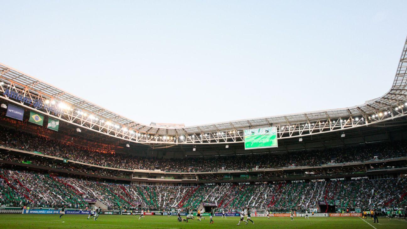 Lance de Palmeiras 1 x 0 Corinthians, pelo Brasileirão, no Allianz Parque
