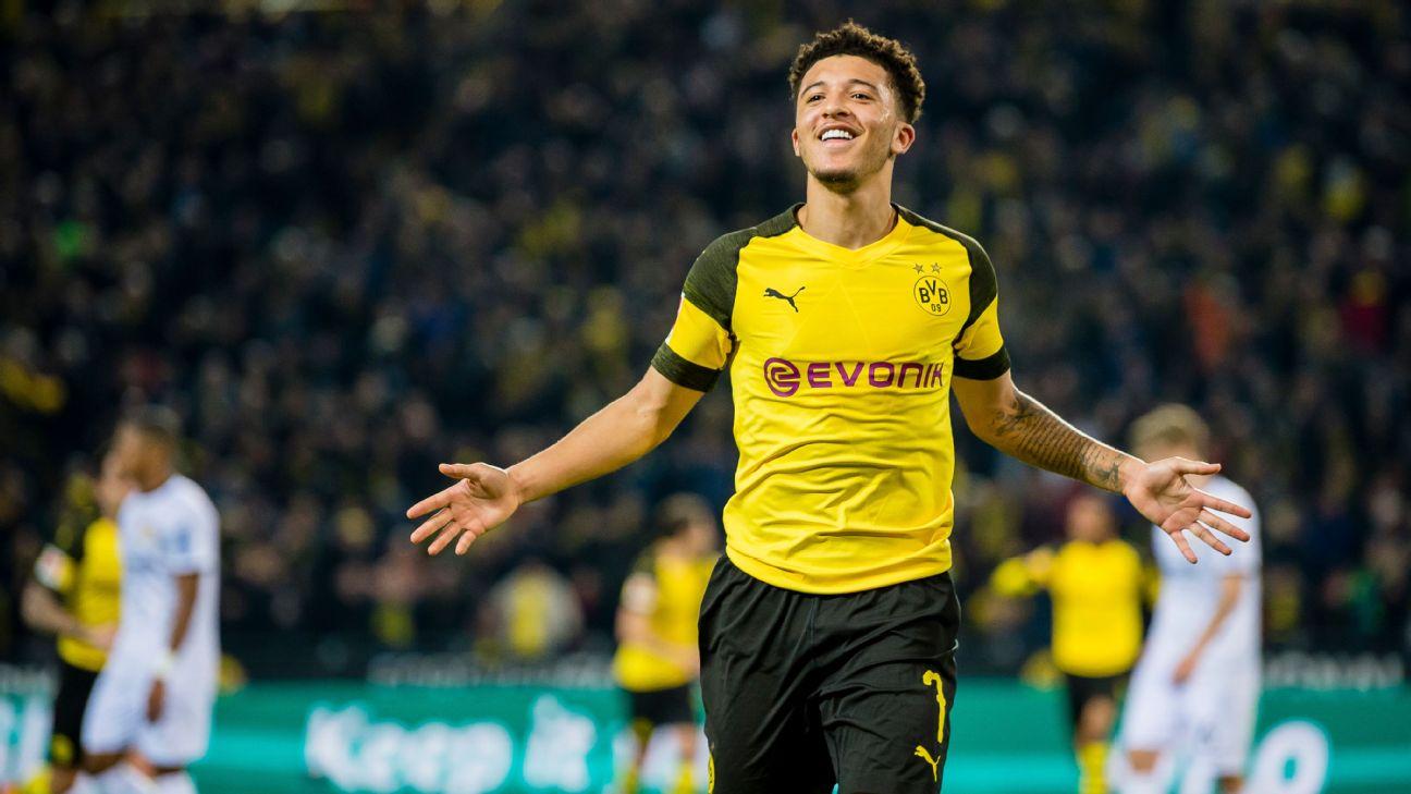 Sancho é um dos destaques do time do Borussia Dortmund