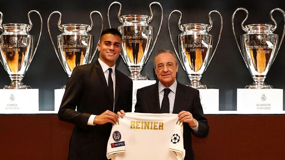 Reinier é apresentado no Real Madrid