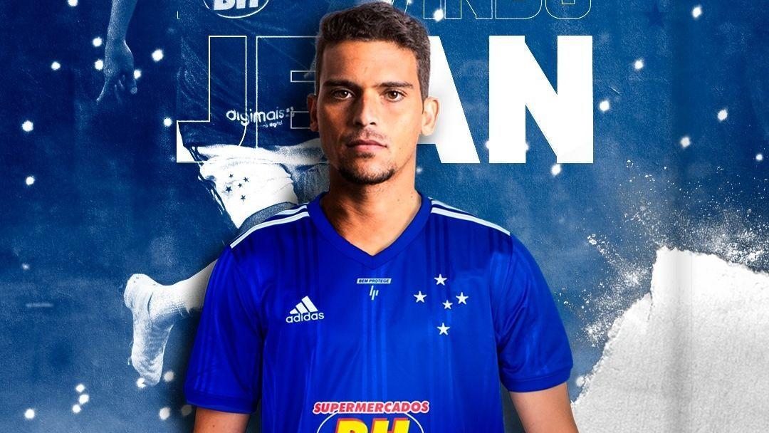 Cruzeiro anunciou a contratação do volante/lateral Jean, do Palmeiras