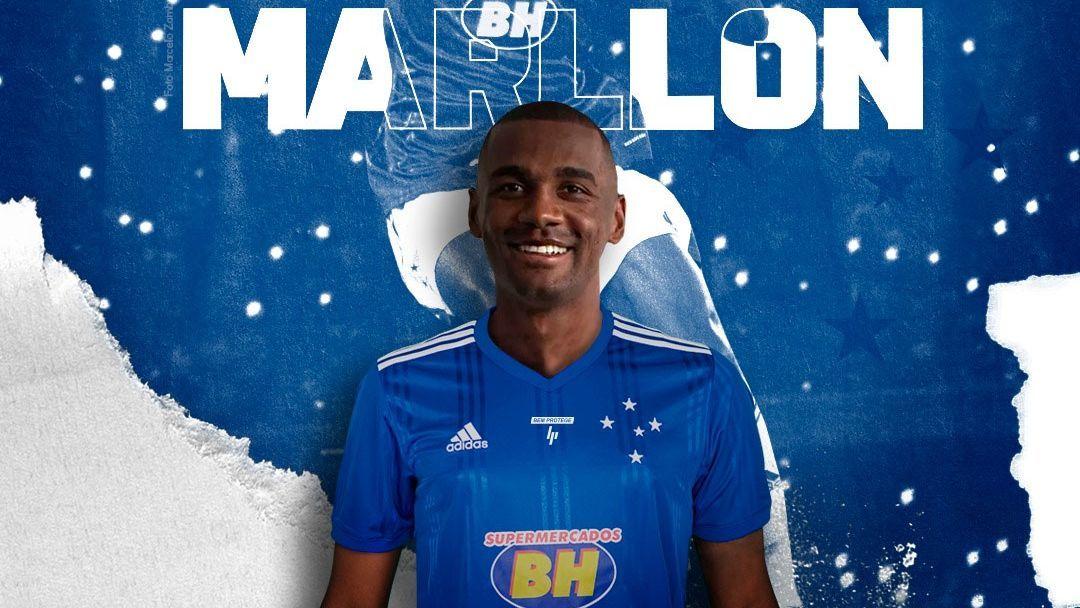 Cruzeiro anunciou a contratação do zagueiro Marllon