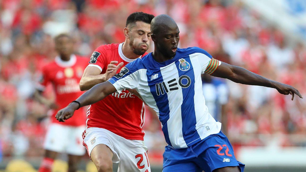 Danilo e Pizzi, capitães de Porto e Benfica