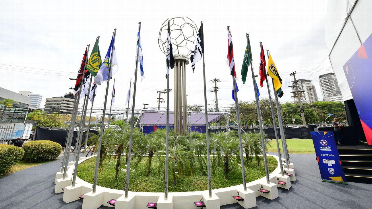 Sede da Federação Paulista de Futebol em São Paulo