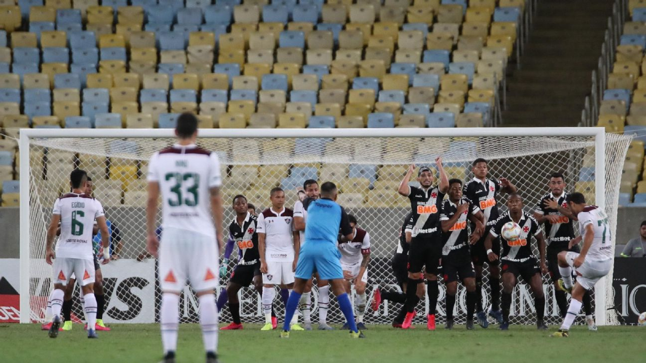 Fluminense x Vasco pelo Carioca de 2020