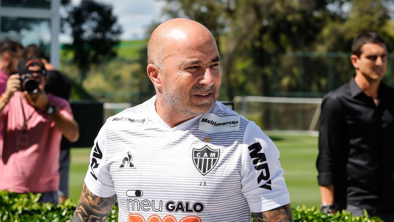 Jorge Sampaoli, treinador do Atlético Mineiro