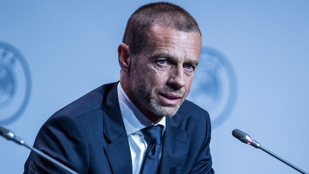 Aleksander Ceferin, durante congresso da Uefa