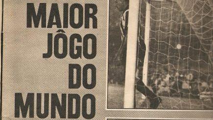 """Santos venceu o Botafogo em 1962 no """"maior jogo do mundo"""""""