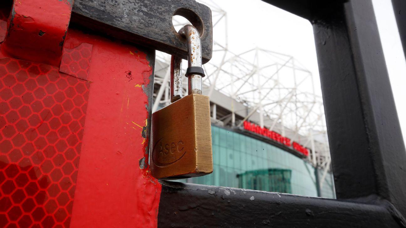 Old Trafford fechado