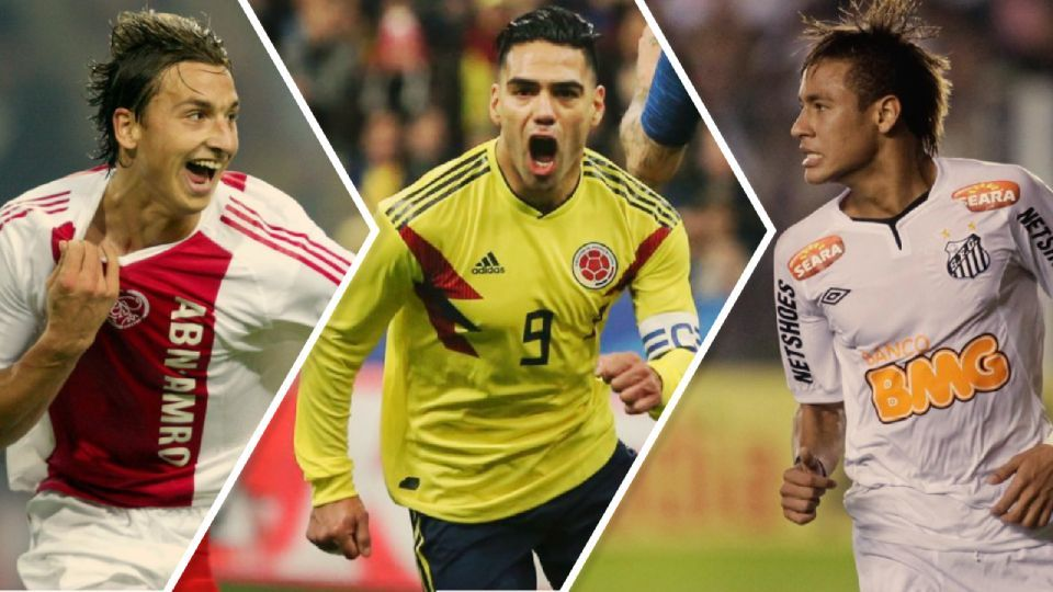 Ibrahimovic, Falcao e Neymar