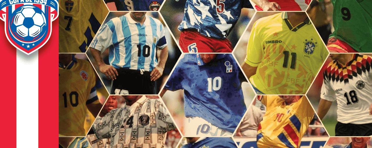 Os melhores e piores uniformes da Copa do Mundo de 1994
