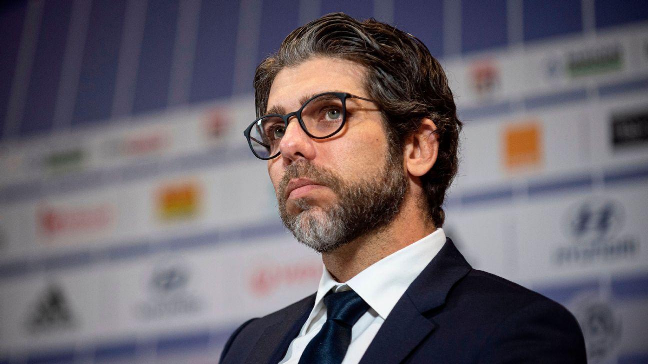 Juninho assumiu cargo de diretor do Lyon nessa temporada