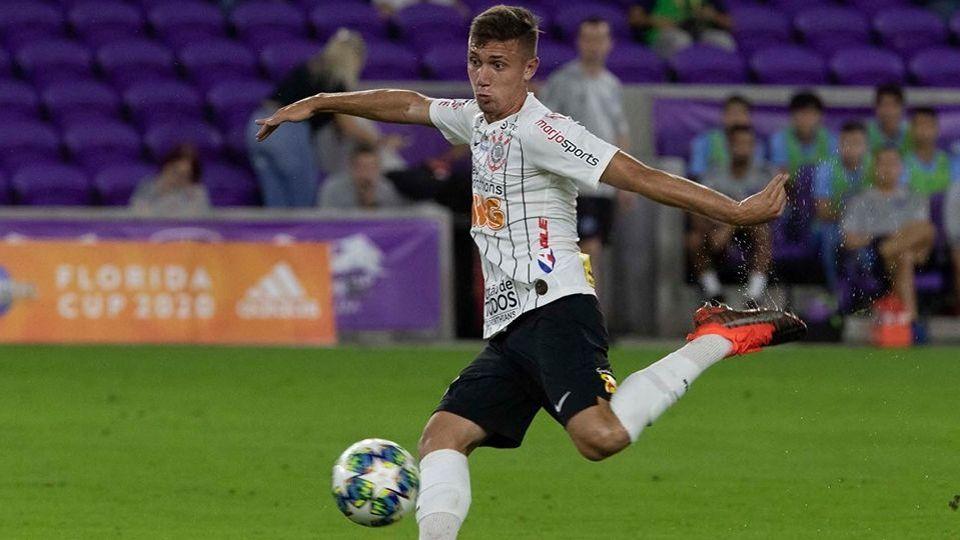 Piton atuando pelo Corinthians na Florida Cup