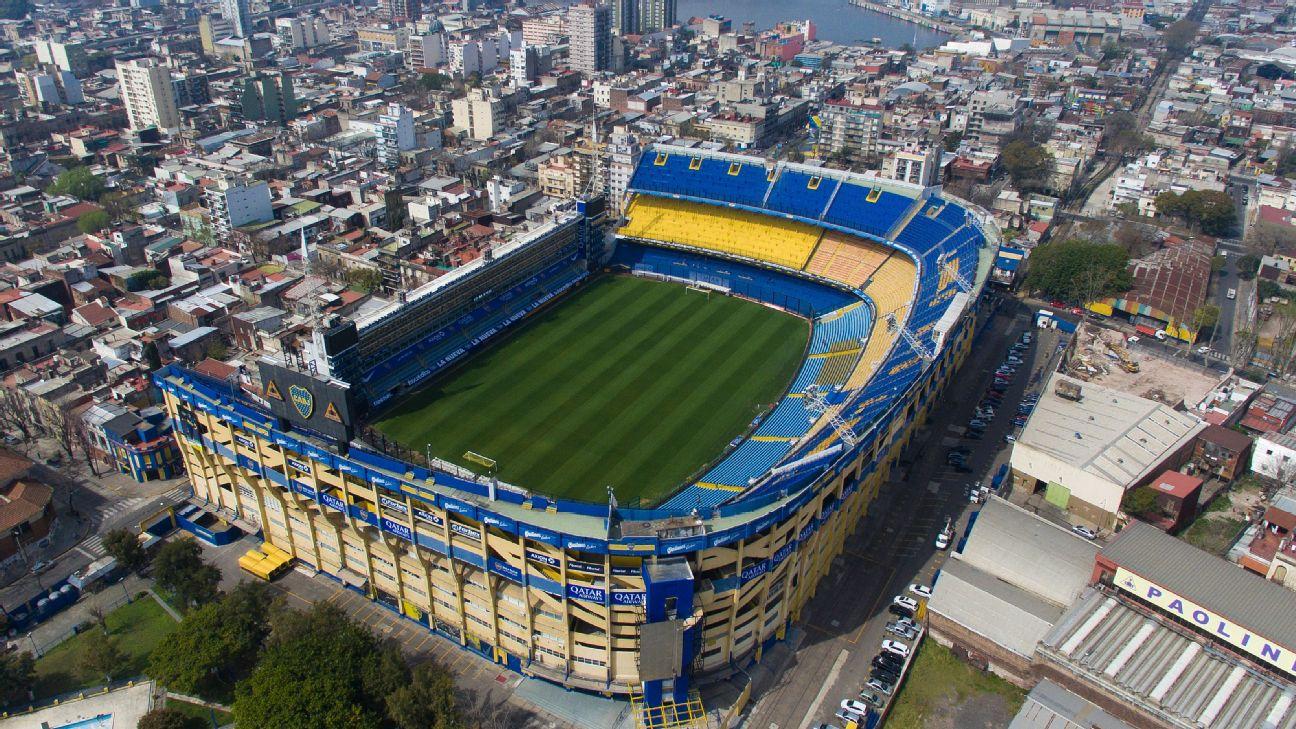 Bombonera, casa do Boca Juniors