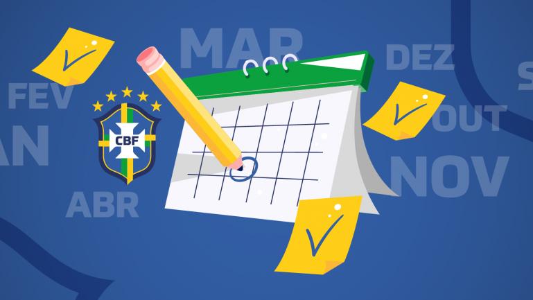 CBF divulgou calendário do futebol brasileiro para 2020