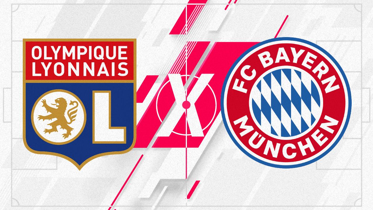 Lyon x Bayern pela Champions League