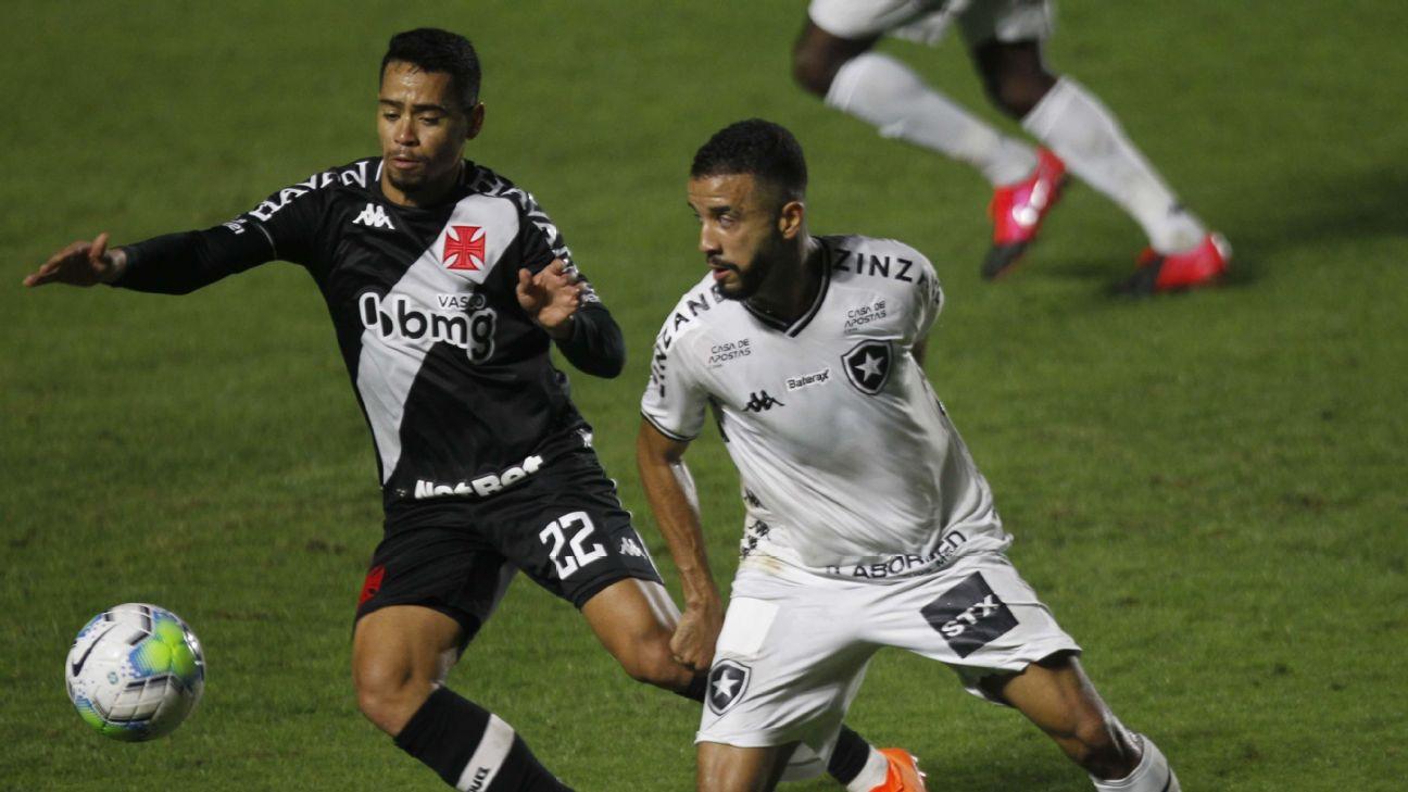 Vasco e Botafogo fazem clássico na Copa do Brasil