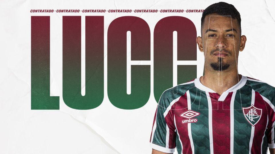 Fluminense anuncia contratação de Lucca