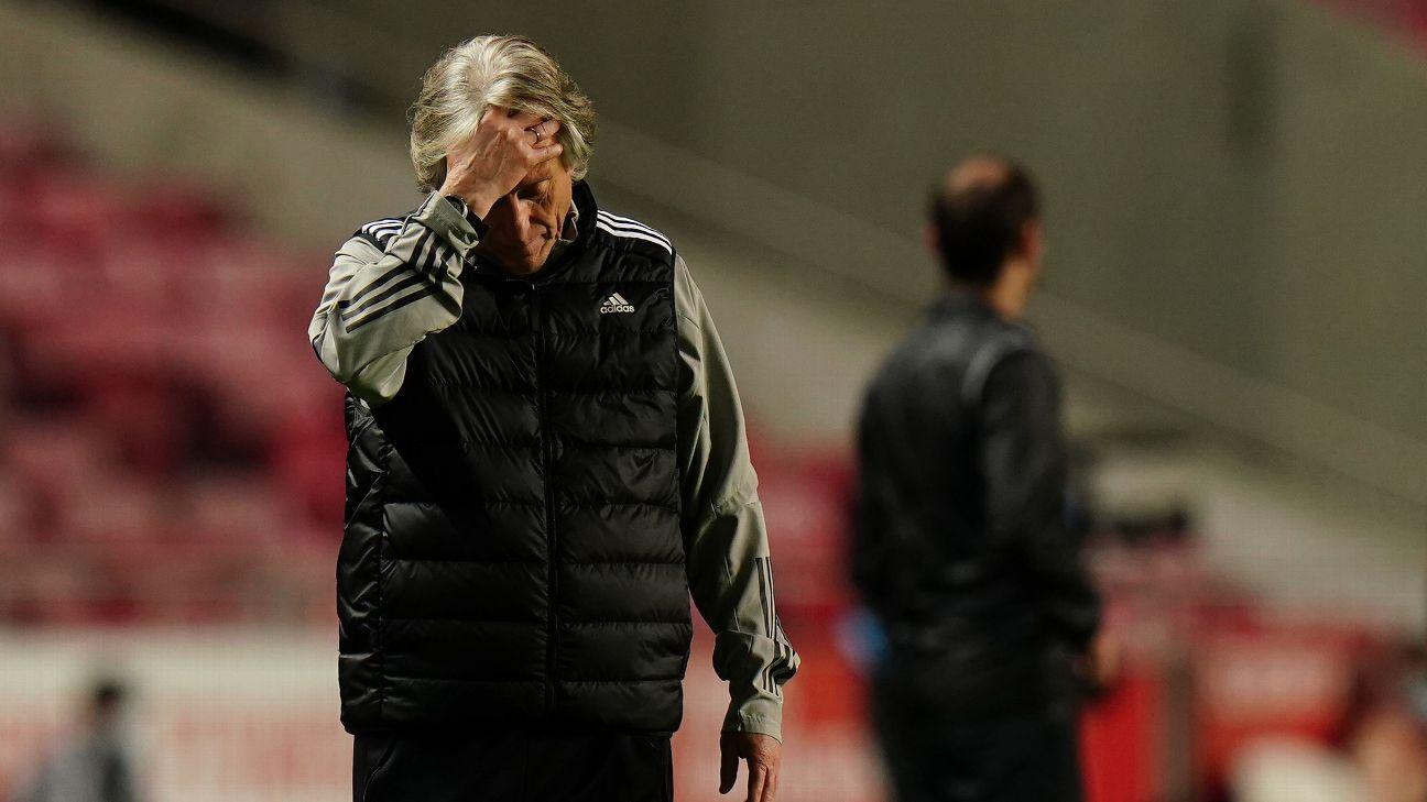 Jorge Jesus explicou conversa de Luisão com jogadores do Benfica após vice para o Porto