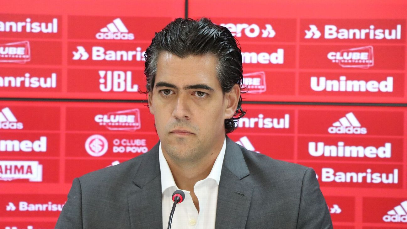Paulo Bracks, diretor executivo do Internacional