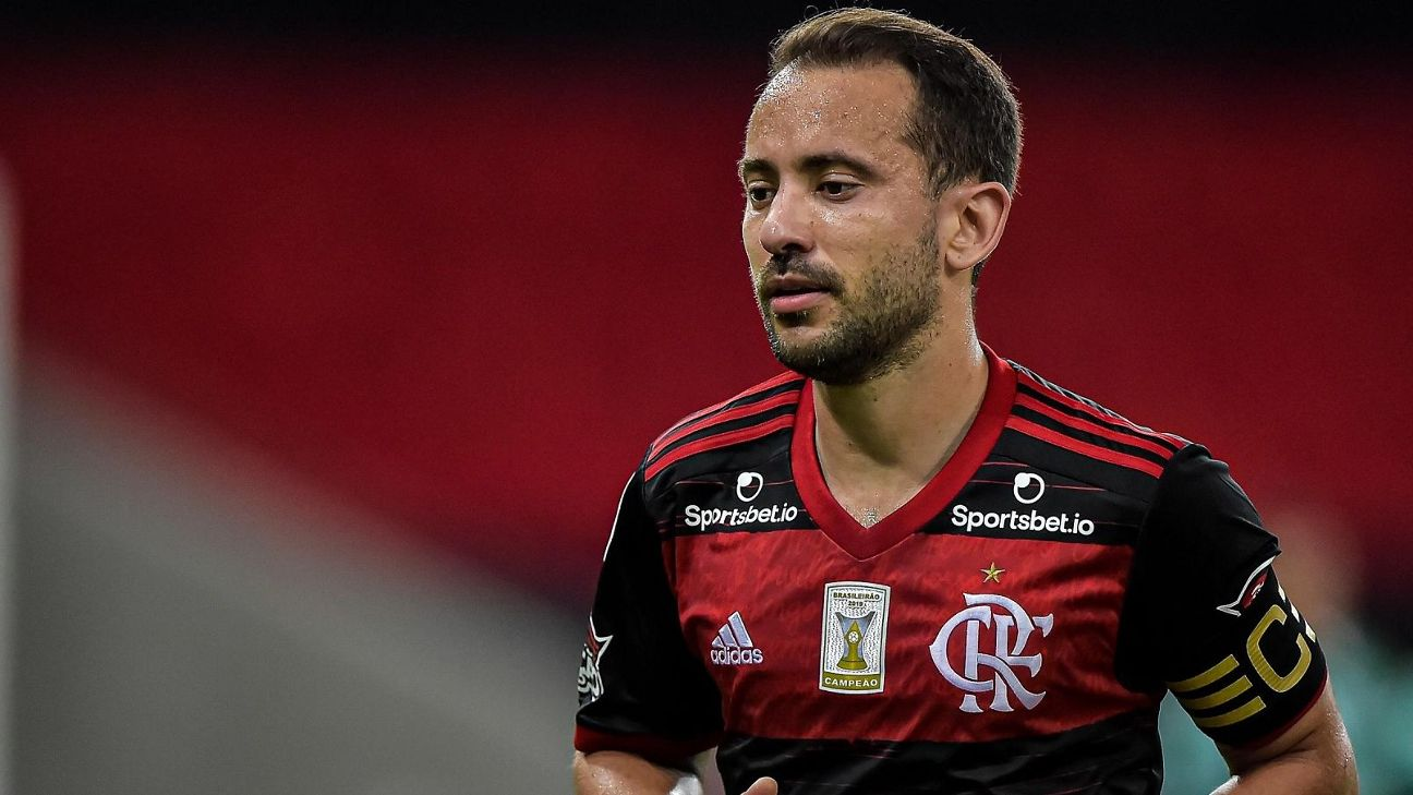 Everton Ribeiro, do Flamengo