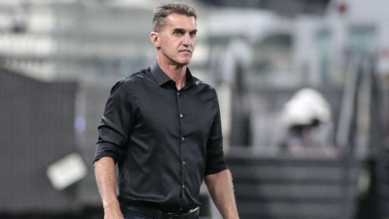Vagner Mancini em partida pelo Corinthians em Itaquera