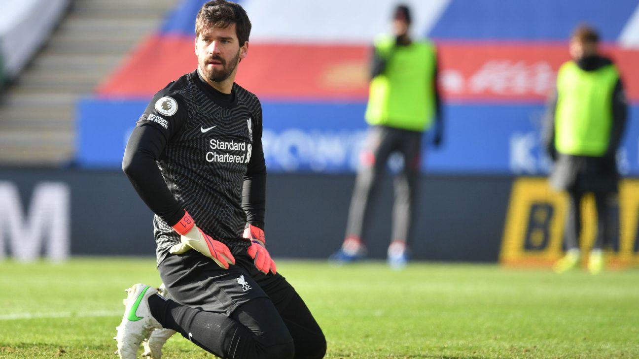 Alisson, goleiro do Liverpool
