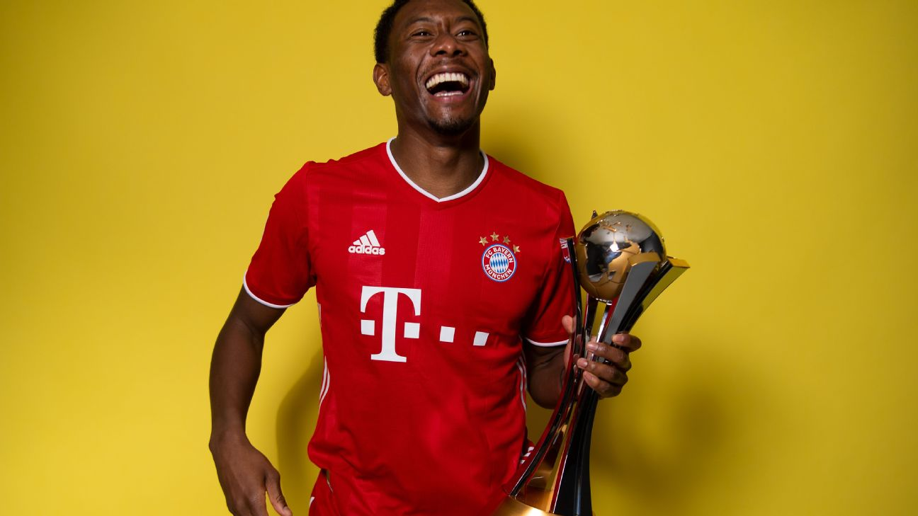 David Alaba conquistou o Mundial de Clubes com o Bayern de Munique