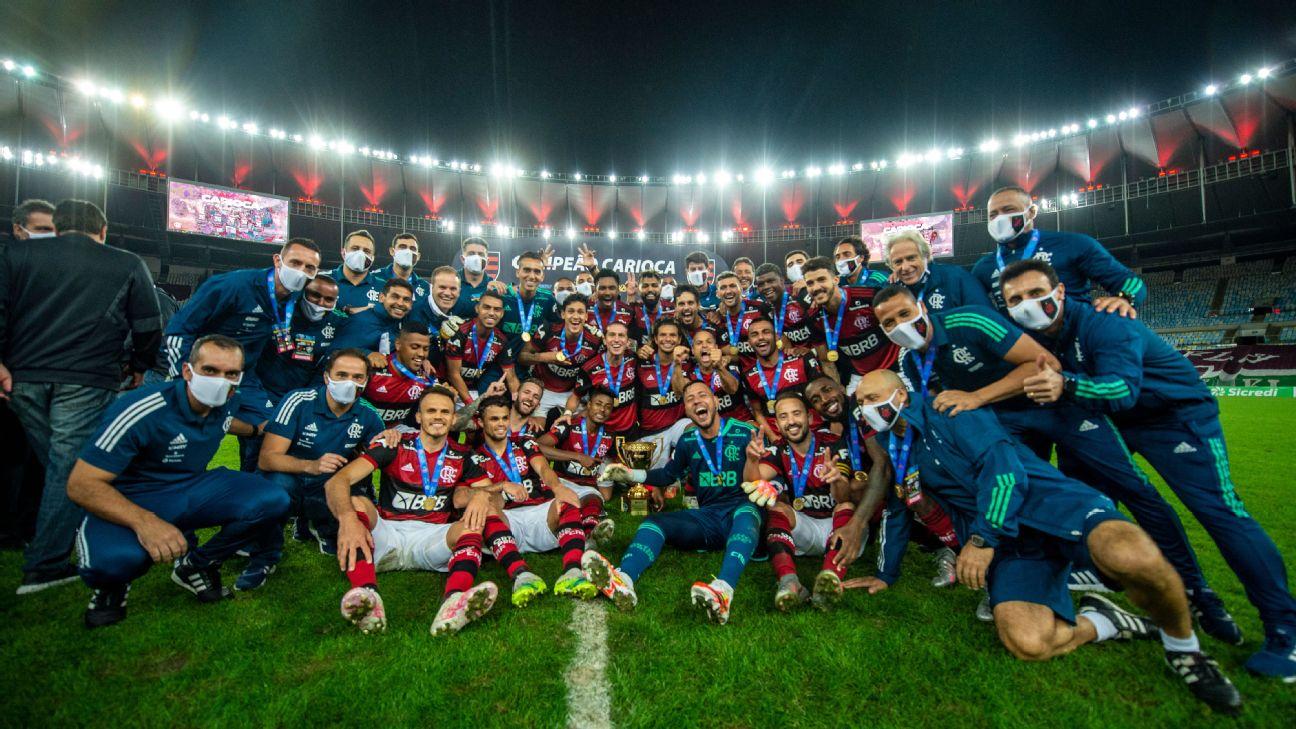 Flamengo conquistou o Campeonato Carioca de 2020