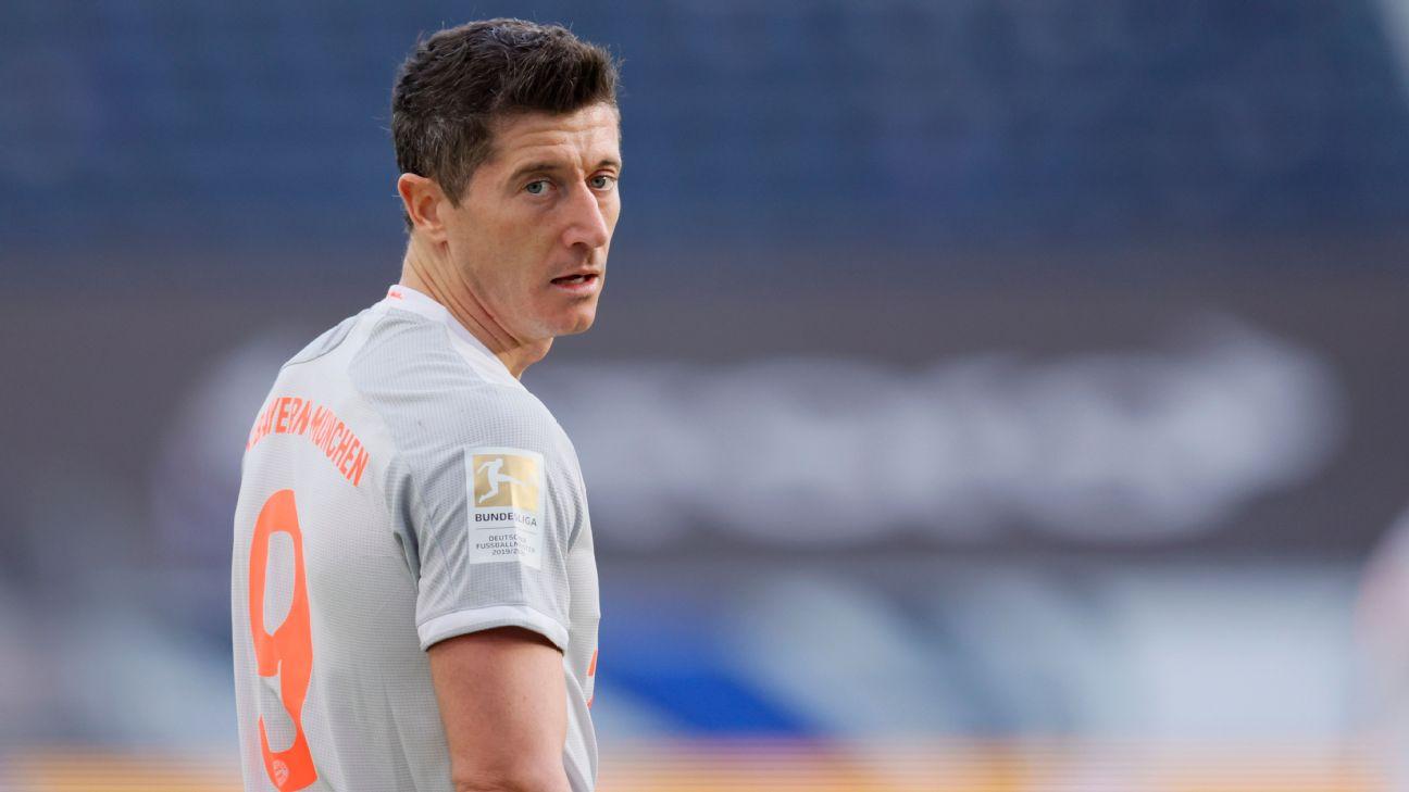 Robert Lewandowski é o artilheiro isolado da Bundesliga 2020-21