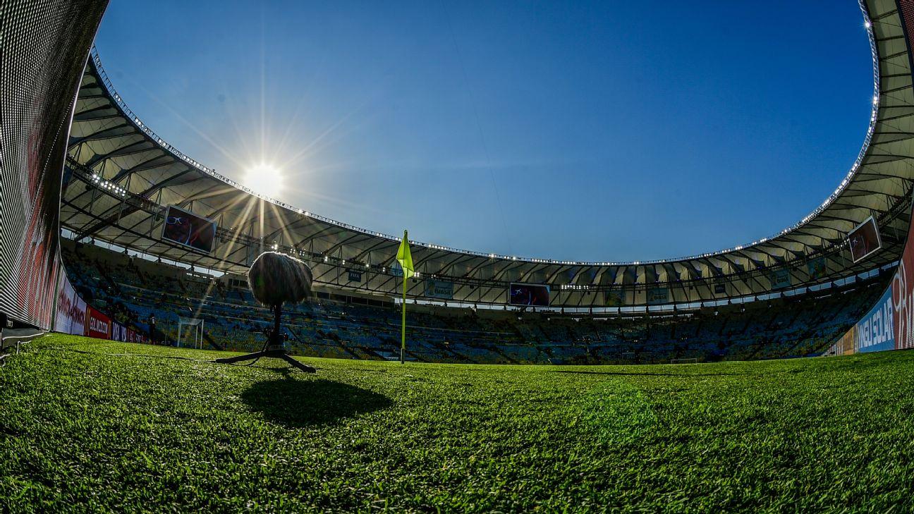 O Maracanã a espera de mais uma partida