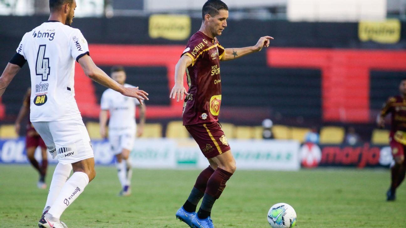 Thiago Neves durante jogo entre Sport e Atlético-MG, pelo Brasileirão