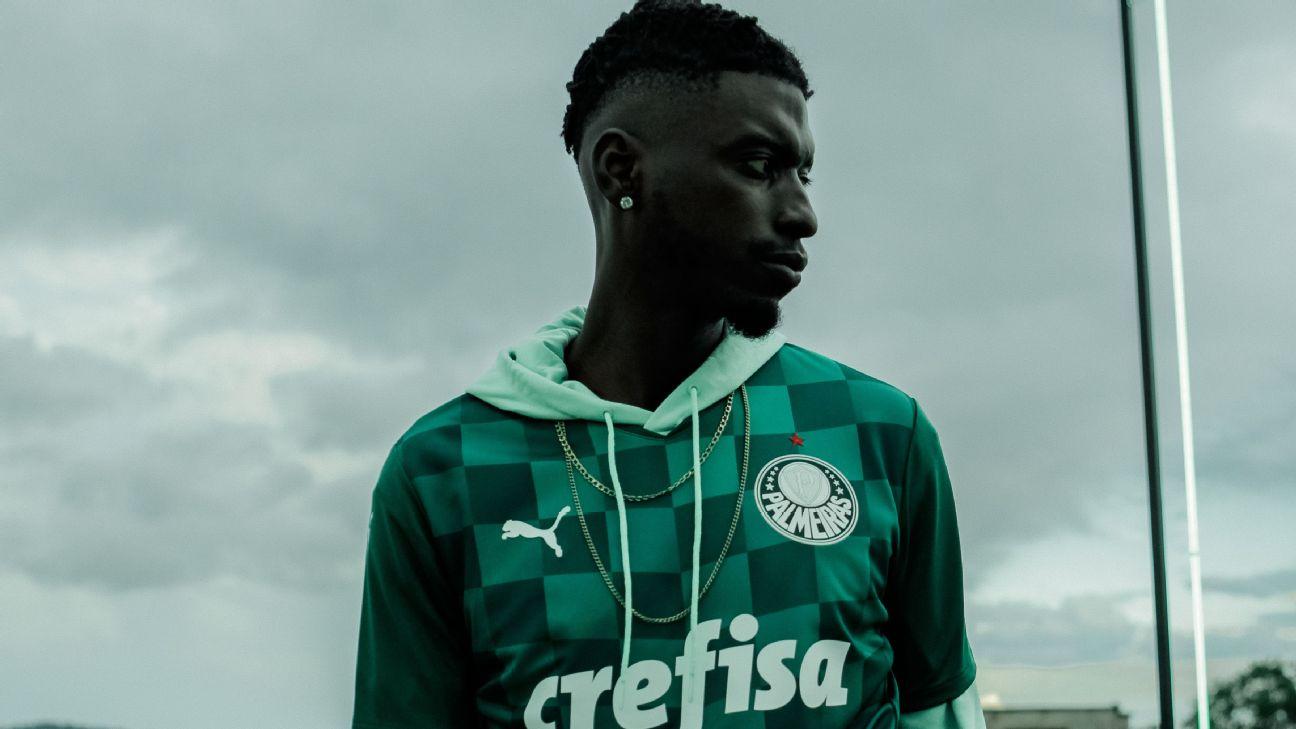 Nova camisa 1 do Palmeiras para a temporada 2021
