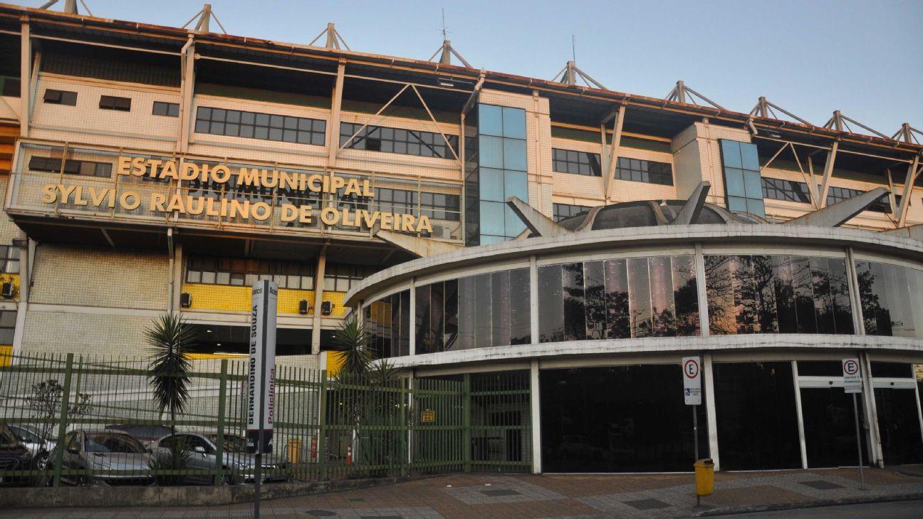 O estádio Raulino de Oliveira, em Volta Redonda-RJ, em 2019