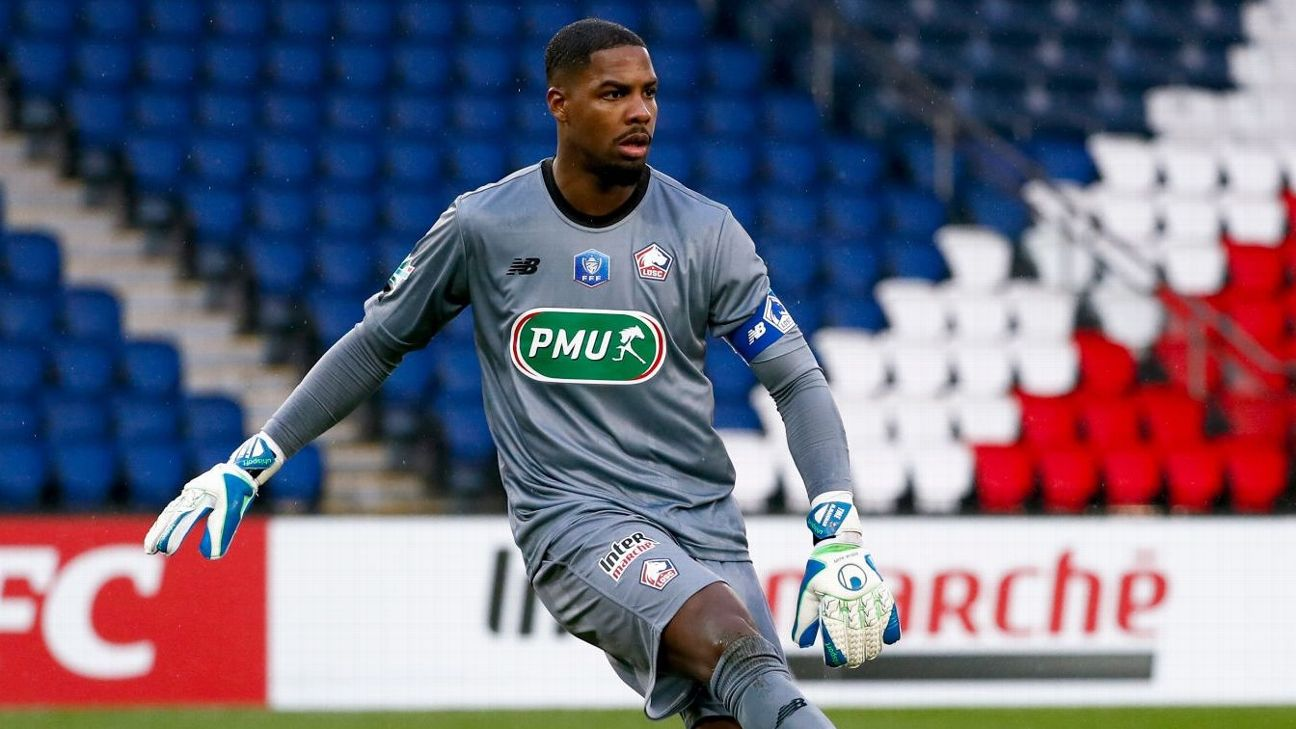 Mike Maignan, goleiro do Lille