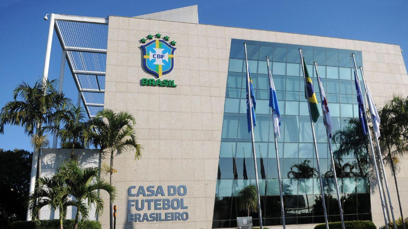 Sede da Confederação Brasileira de Futebol (CBF), no Rio de Janeiro