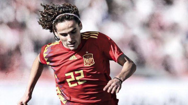 Fabio Blanco em ação pela seleção espanhola