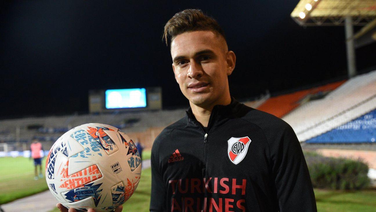 Rafael Santos Borré, atacante do River Plate