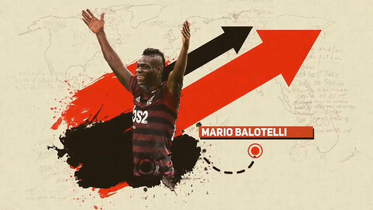 Balotelli 'anunciado' pelo Flamengo em brincadeira de 1º de abril