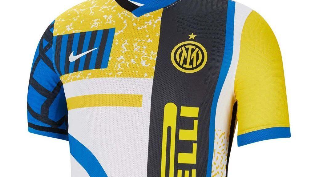 Inter de Milão divulgou nova camisa dos anos 90