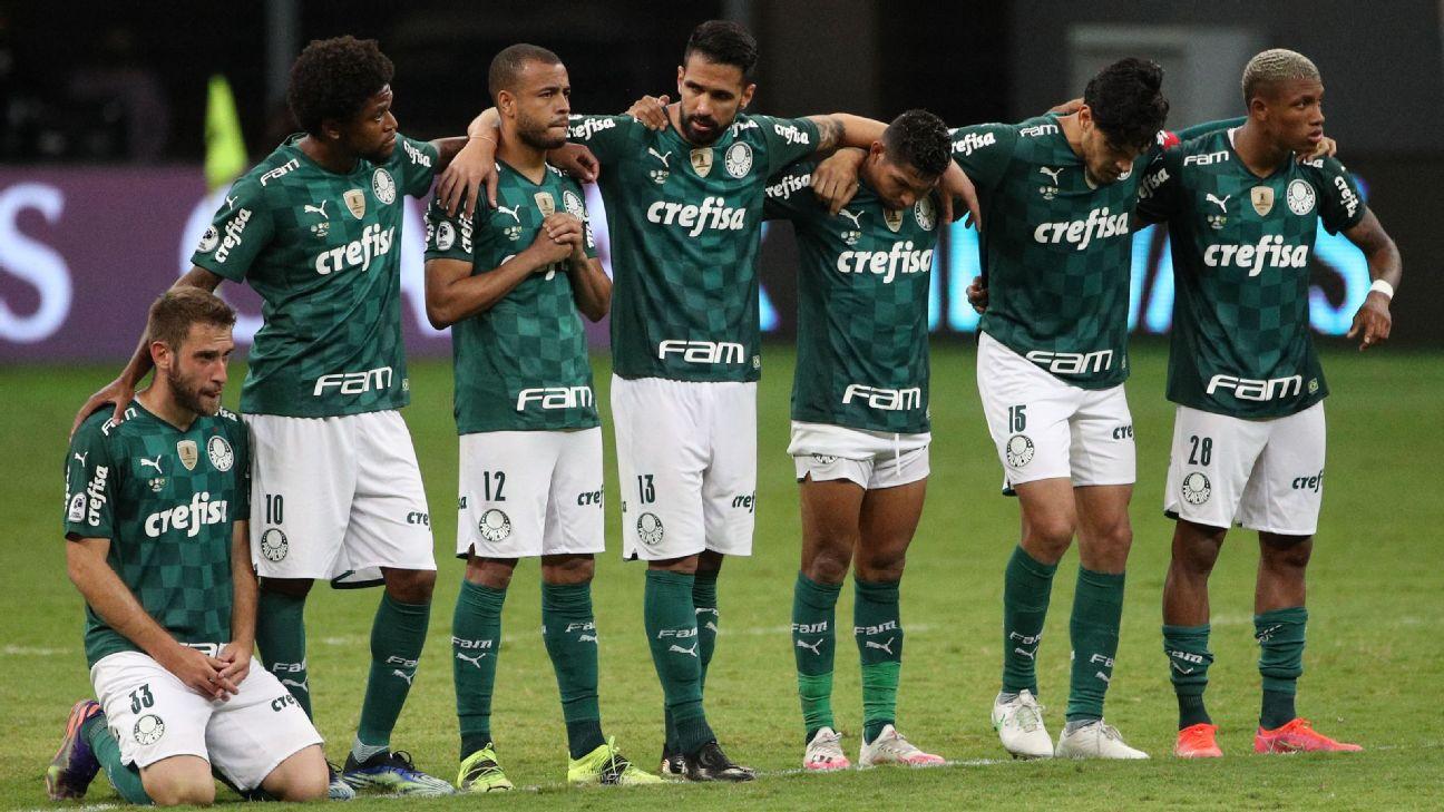 Palmeiras perdeu dois títulos nos pênaltis