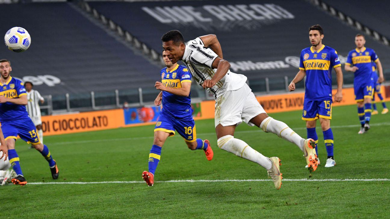 Alex Sandro comandou virada da Juventus sobre o Parma no Campeonato Italiano