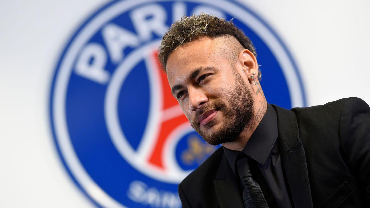 Neymar acertou recentemente renovação com o PSG
