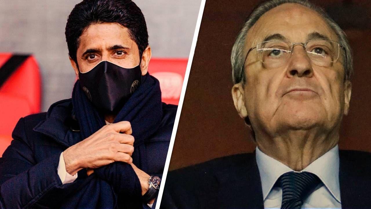 Nasser Al-Khelaifi e Florentino Pérez
