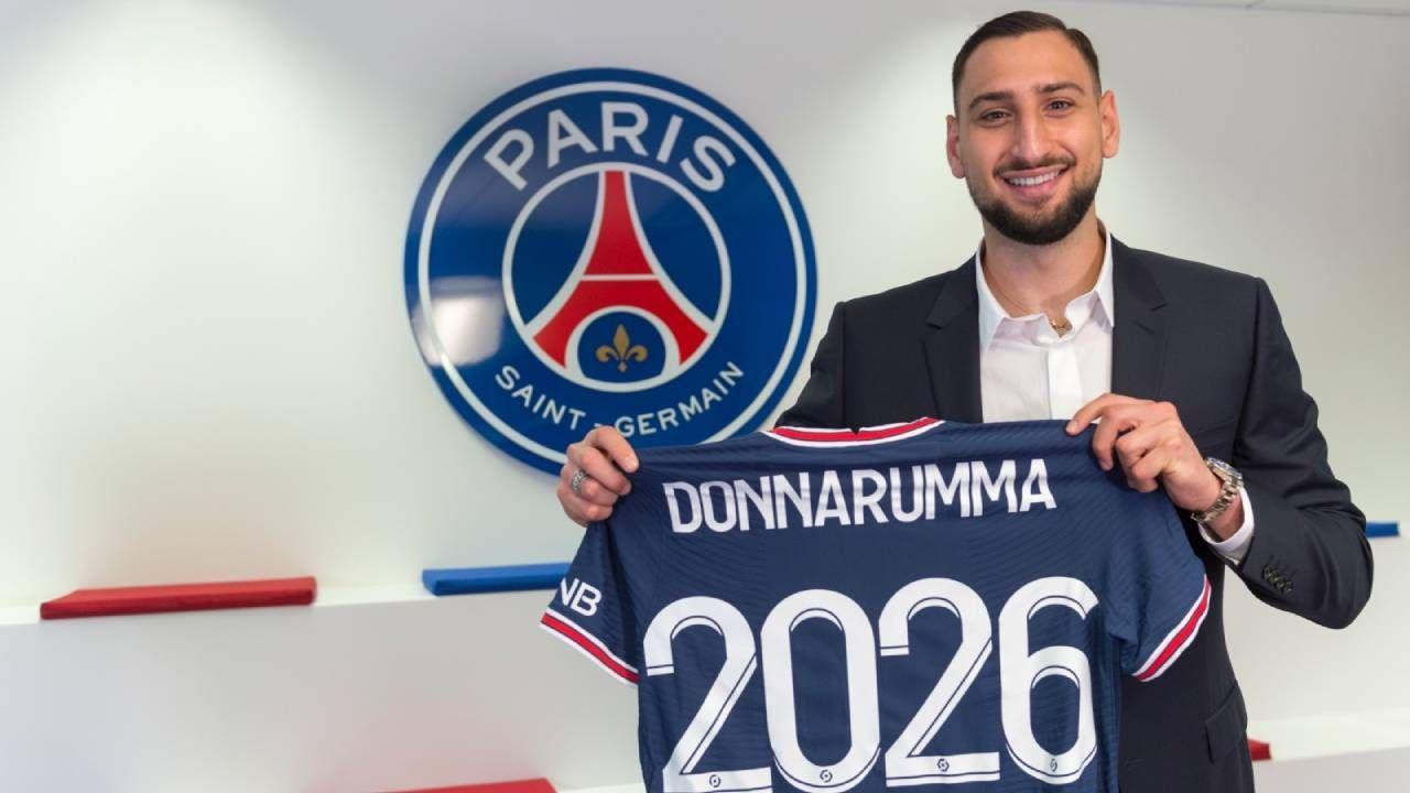 Donnarumma assina com o PSG por cinco temporadas